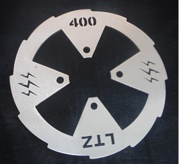 Picture of SPROCKET  DISC  ( STAINLESS STEEL )