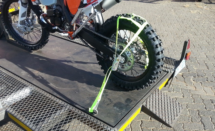 Ktm Dirt Bike Tie Downs