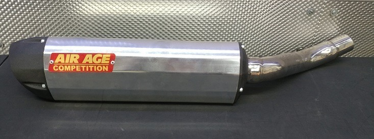 SSS Racing. EXHAUST PIPES AIR AGE SLIP ON