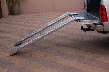 Picture of Ramps - Heavy duty straight, Tread plate