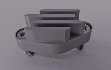 Picture of Brake block off with cooling fins