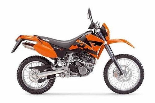 Picture Of KTM 640 LC4 SUPERMOTO