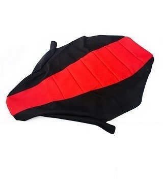 Picture of RaceCraft Gripper seat cover Black & Red