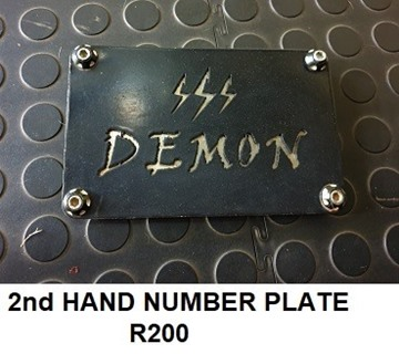 Picture of Number plate