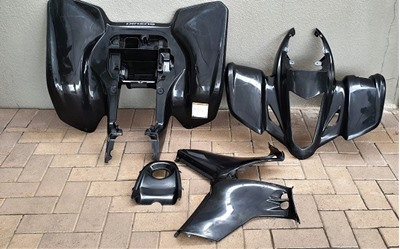 Picture of Black Plastic set full - LTZ 400